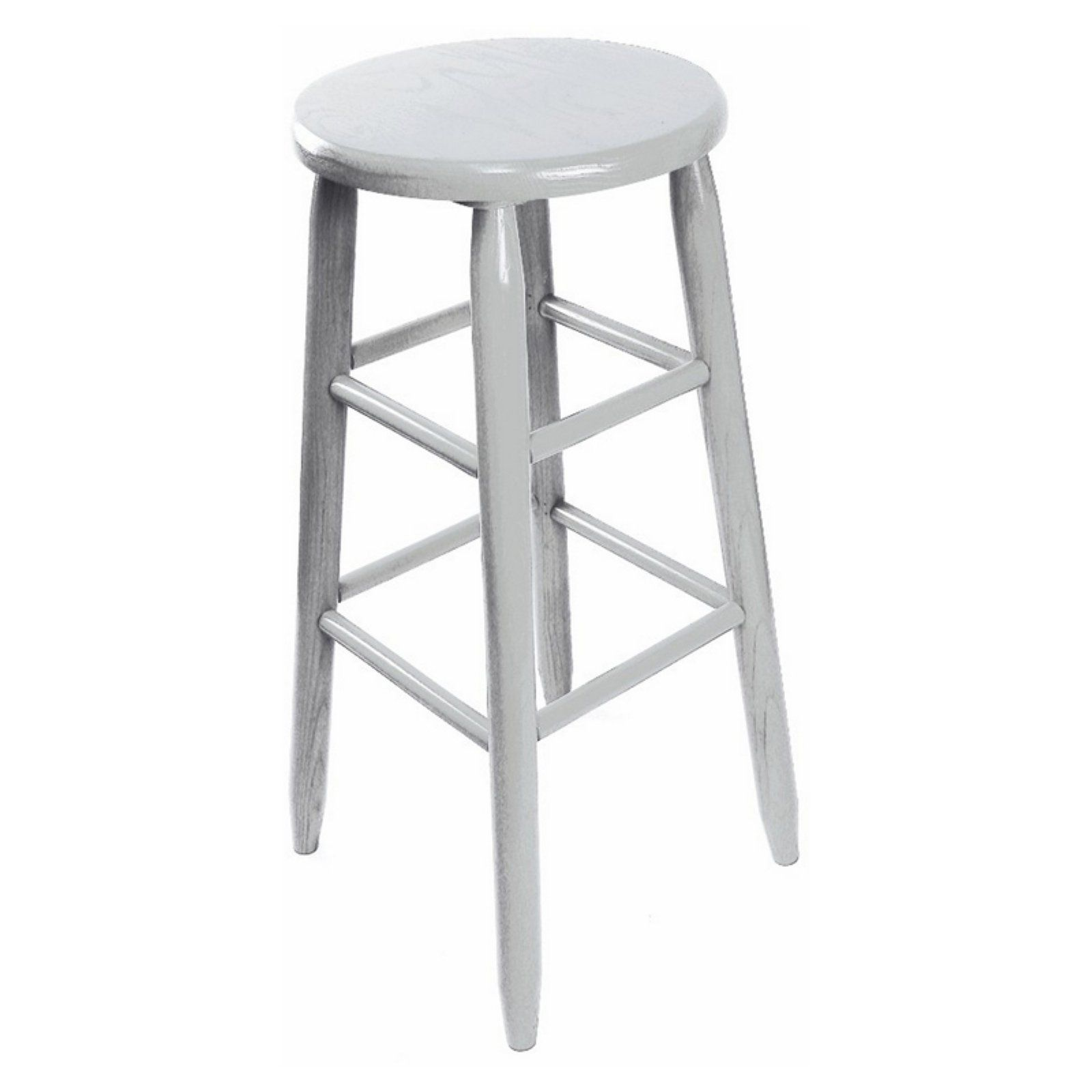 Dixie Seating Garland 30 In Round Top Backless Barstool Backless Bar Stools Bar Stools Home Decor