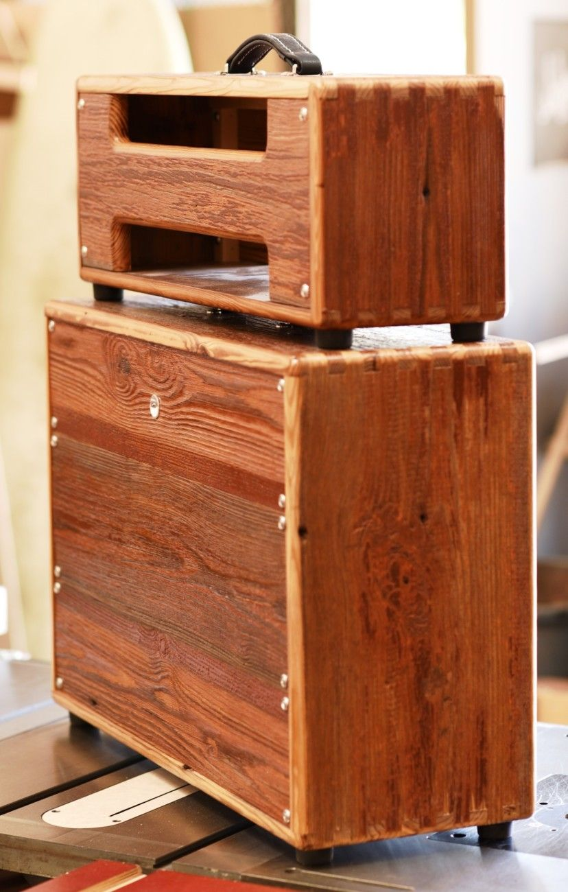 Custom Guitar Speaker Cabinets Barnwood Jtm 45 Head And 2x12 Cabinet Only By Salvage Custom