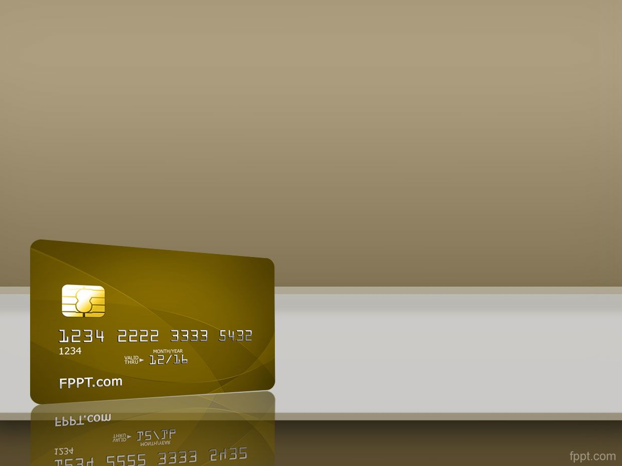 credit card background #free #powerpoint #templates