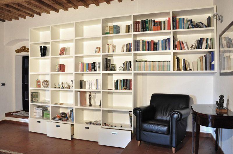 Libreria a giorno cartongesso cerca con google for Divano incassato