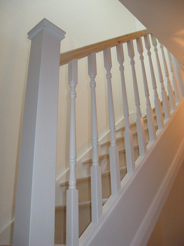 Best A Softwood Staircase For A Loft Conversion Painted White 400 x 300
