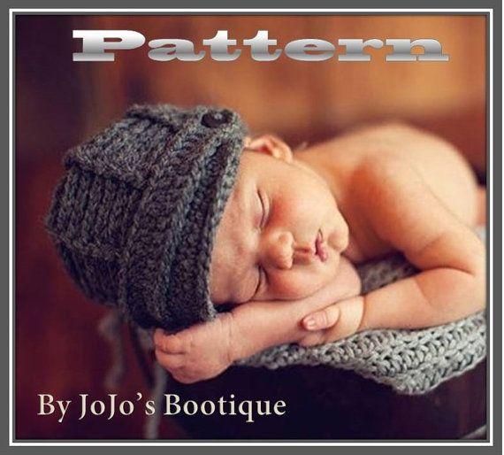 PDF Newsboy Hat PATTERN Baby Newsboy Hat von JojosBootique, $5.75 ...