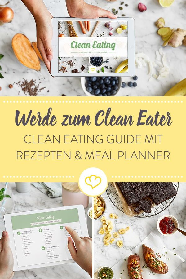 E-Book Clean Eating #cleaneatingforbeginners