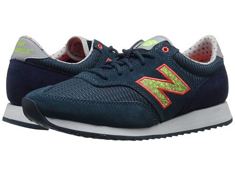 Womens Shoes New Balance Classics CW620 Navy Suede/Mesh