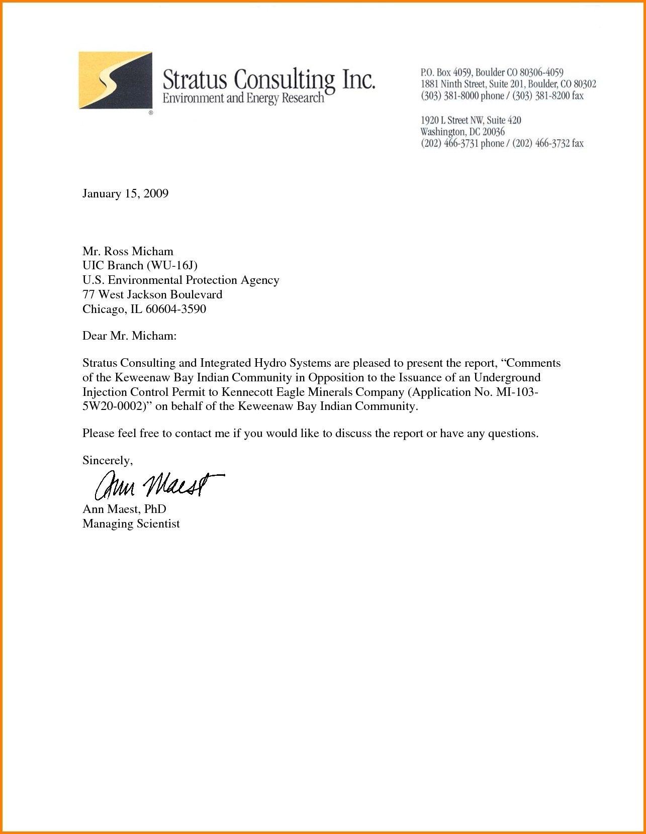 Business Letter Letterhead