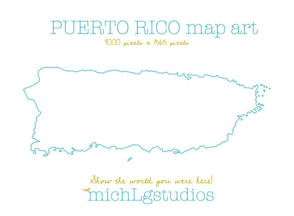 Vector Png Puerto Rico Map Art Clip Art State Country Etsy In 2021 Puerto Rico Map Map Art Clip Art