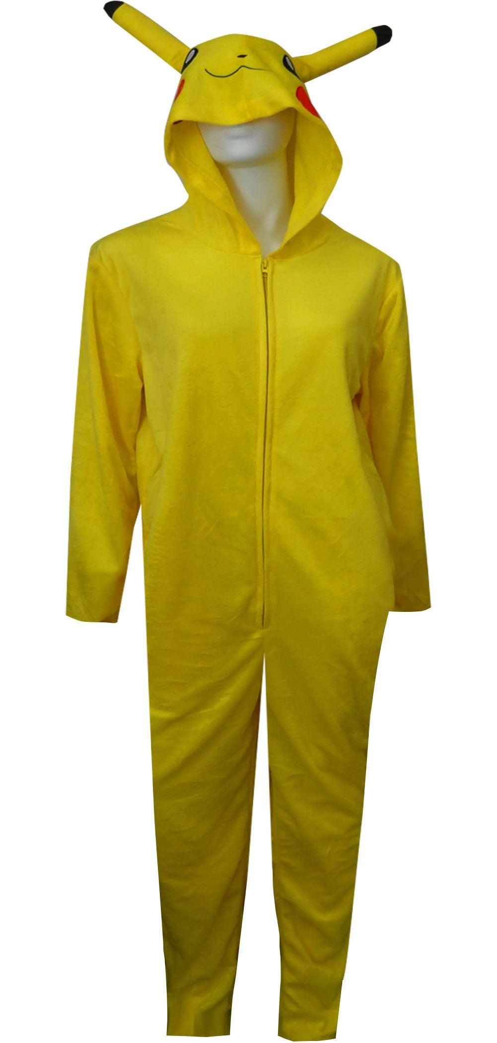 WebUndies.com Pokemon Pikachu One Piece Union Suit Pajama  8c9e4c488
