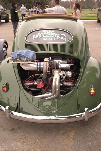 Turbo Vw Oval Beetle