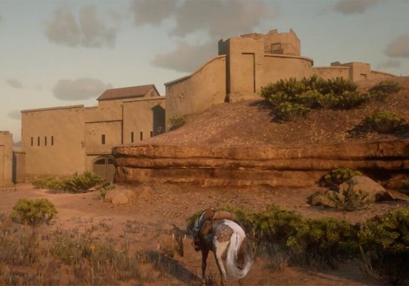 How to sneak into Mexico in Red Dead Redemption 2