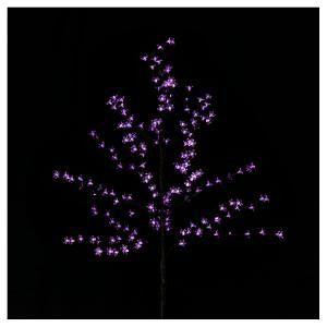 Purple Christmas Solar Led Cherry Blossom Tree 1 5m Purple Christmas Lights Purple Christmas Decorations Led Christmas Lights