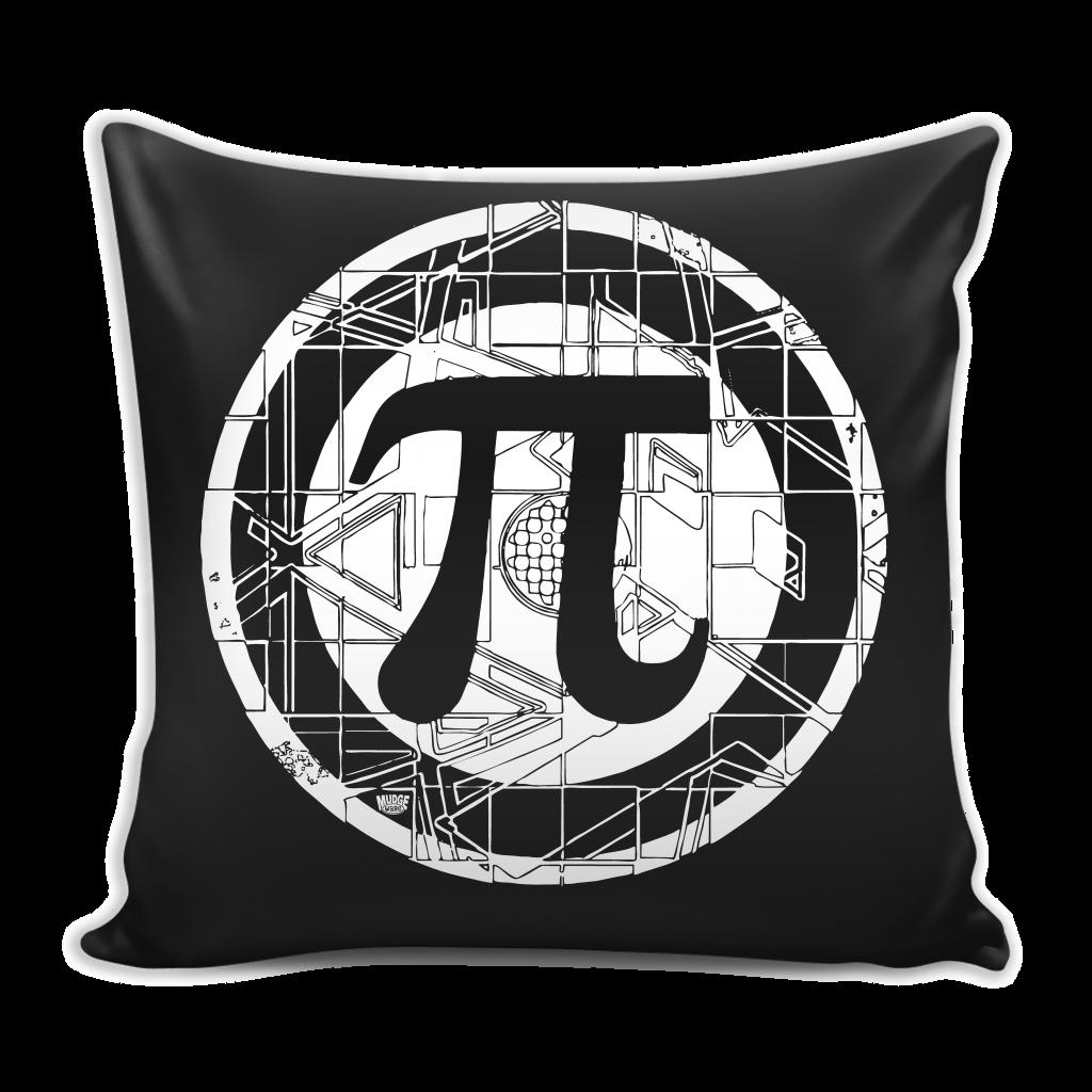 Pi Symbol Pillow Cover for Math Nerds