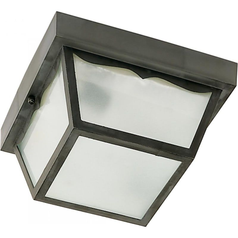 Nuvo Lighting 77 863 Outdoor Flush Mounts Acrylic Panels Ceiling Fixtures