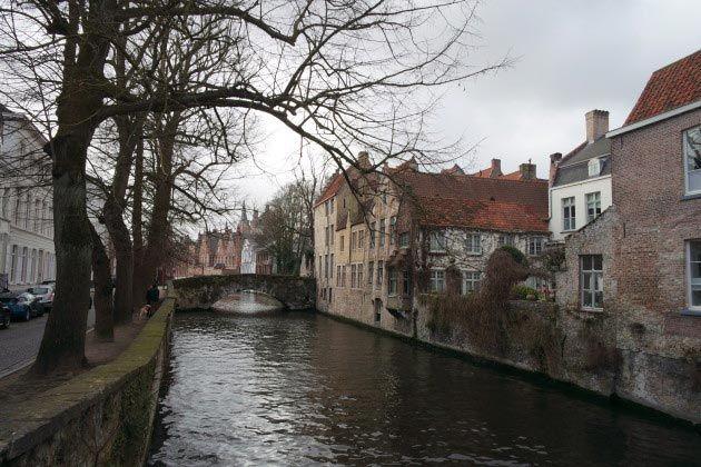 Bruges, Belgium, canal