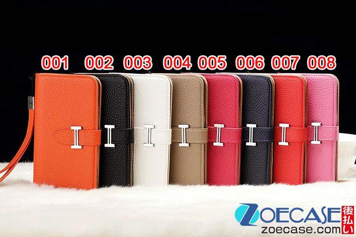 8993e9b024 エルメス iPhone8ケース 手帳型 iphone7カバー HERMES ブランド Galaxy s7 edge 手帳型ケース ギャラクシー