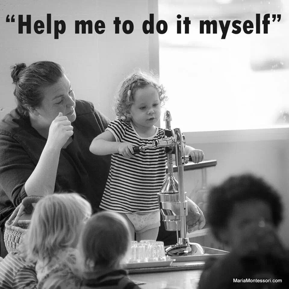Auta minua tekemään itse