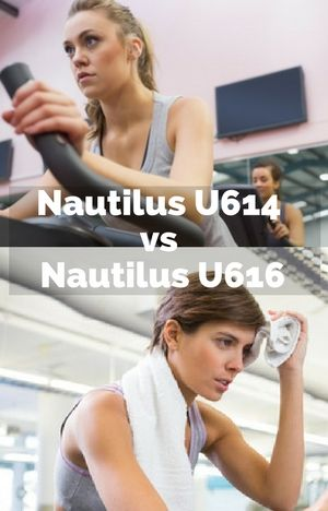 Most in depth Nautilus U614 vs Nautilus U616 comparison online. Read this first
