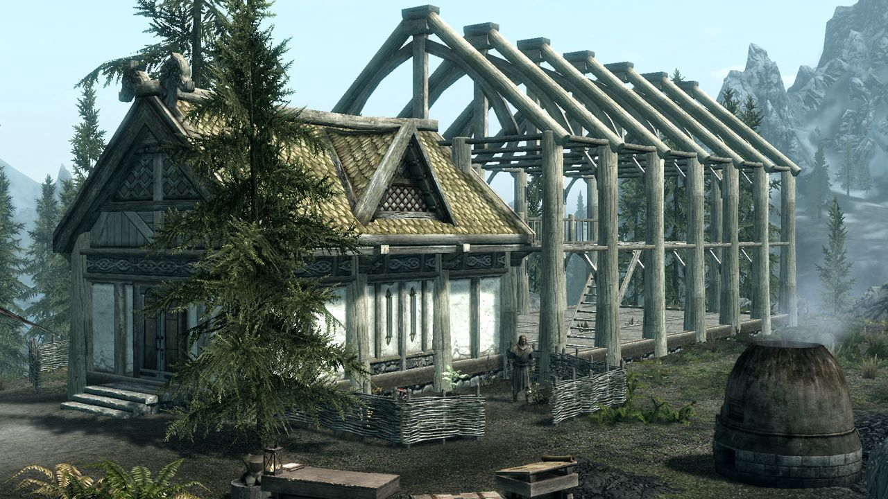 Build Your Own Home In The Homestead Update For Elder Scrolls Online Hearthfire May Not Have Been The Best Dlc Skyrim House Elder Scrolls Build Your Own House
