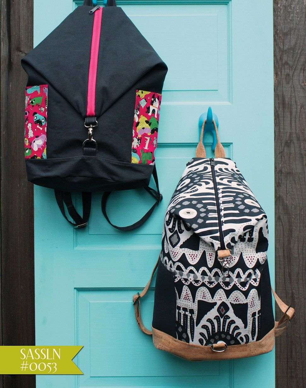 Bugsy Backpack Sewing Pattern Sassafras Lane Designs Backpack Pattern Sewing Backpack Pattern Diy Backpack Pattern