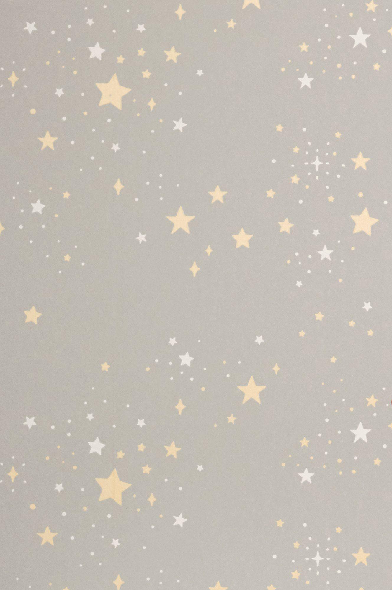 Majvillan Wallpaper Twinkle - Grey