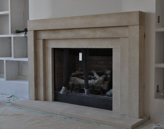 Cast Stone Fireplace mantel Contemporary Modern Traditional style