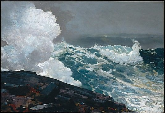 Northeaster  Winslow Homer  (American, Boston, Massachusetts 1836–1910 Prouts Neck, Maine)  Date: 1895; reworked by 1901