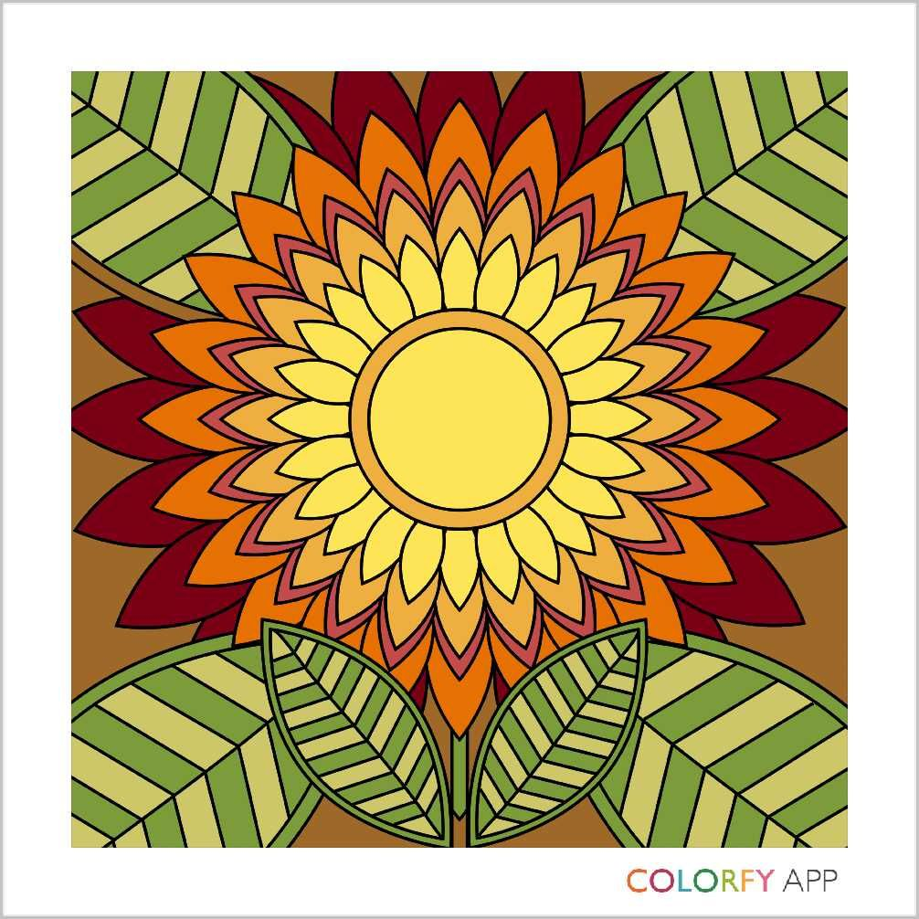 Colorfy app creations ^_^ by Avocado_Baby Flower