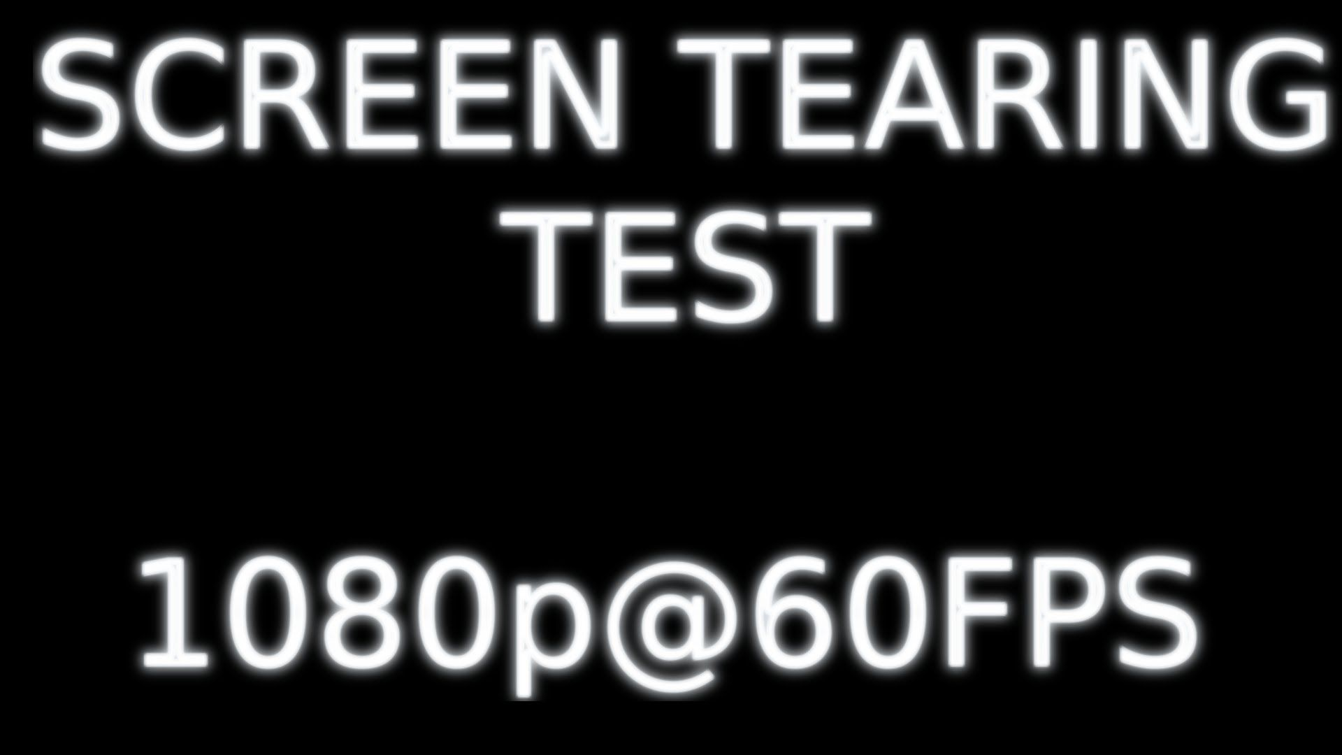 Screen Tearing Test 1080P@60fps | Linux On Youtube