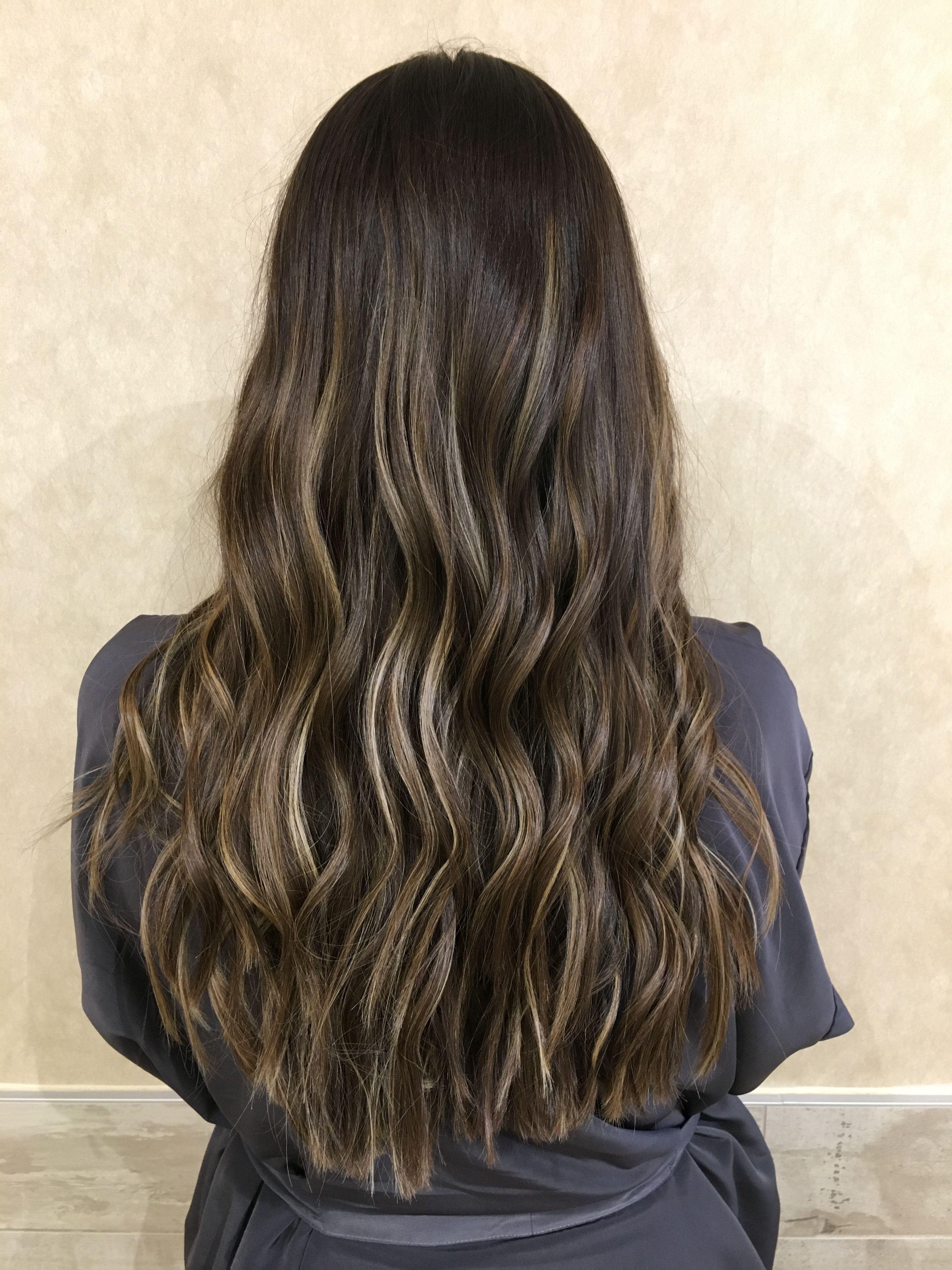 Subtle Balayage For Brunettes #balayage #besthair #brunette Vanity Salon  Houston Tx Http: