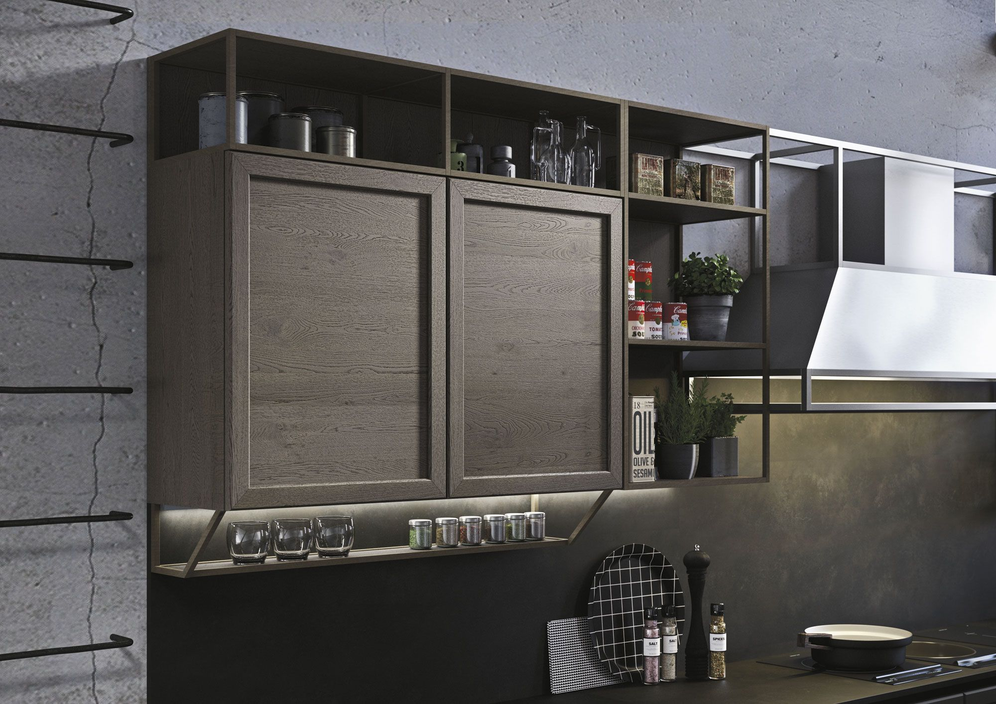 Cucine classiche con isola: design Iosa Ghini con Frame ...