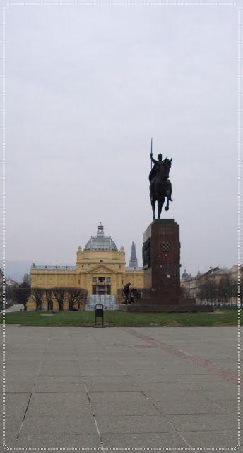 Day 82 King Tomislav Square Zagreb Project 365 Zagreb Day
