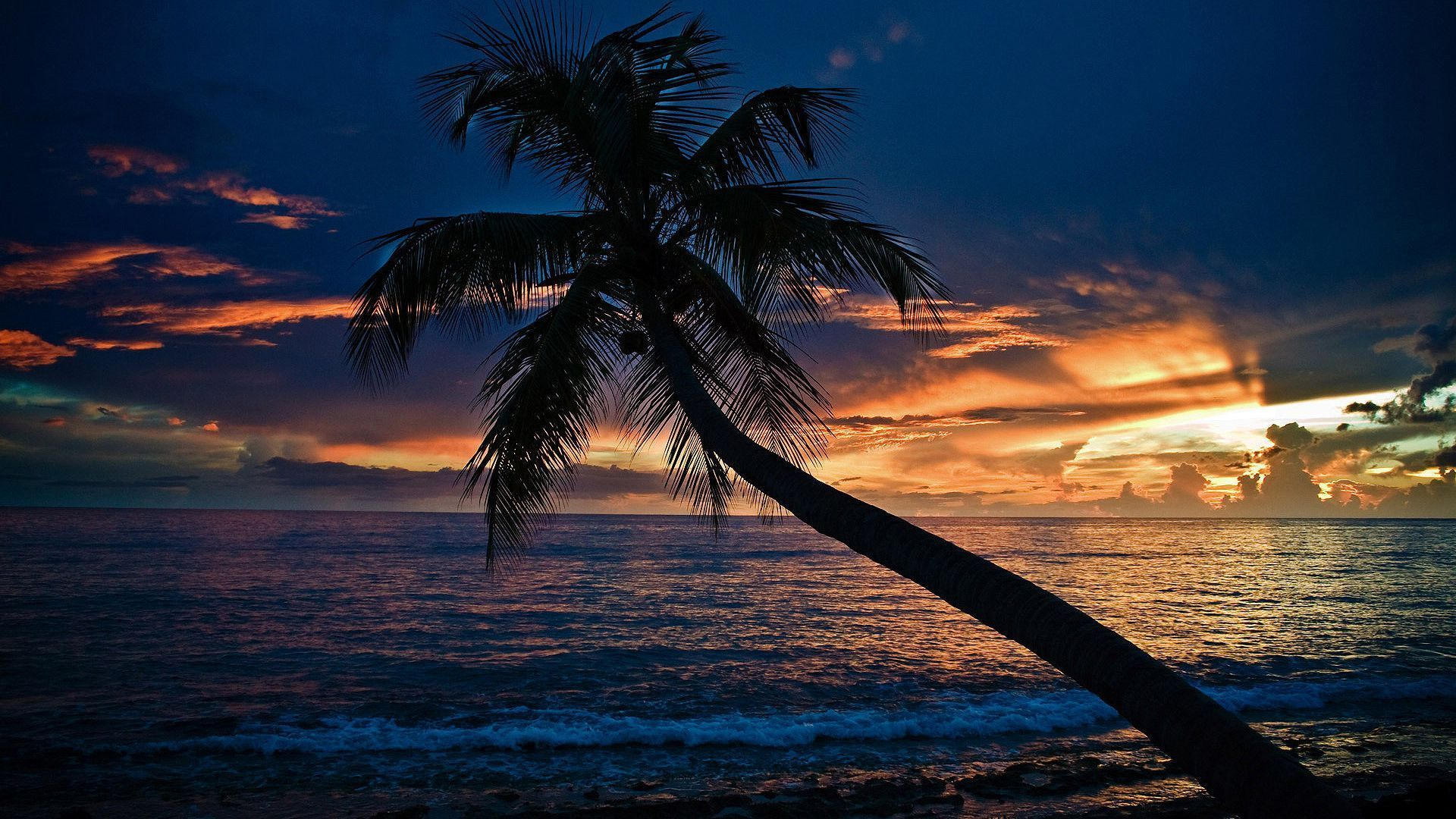 Permalink to Evening Beach Wallpaper