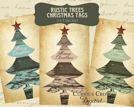 Rustic christmas gift tags printable download christmas is rustic christmas gift tags printable download negle Images