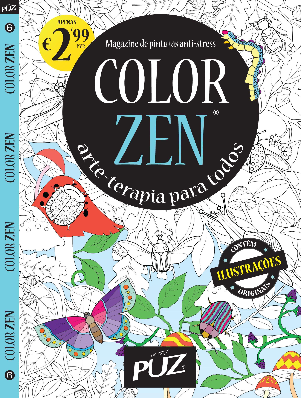 Color zen magazine - Color Zen Nr 6 Magazine De Pinturas Anti Stress Da Puz Arte