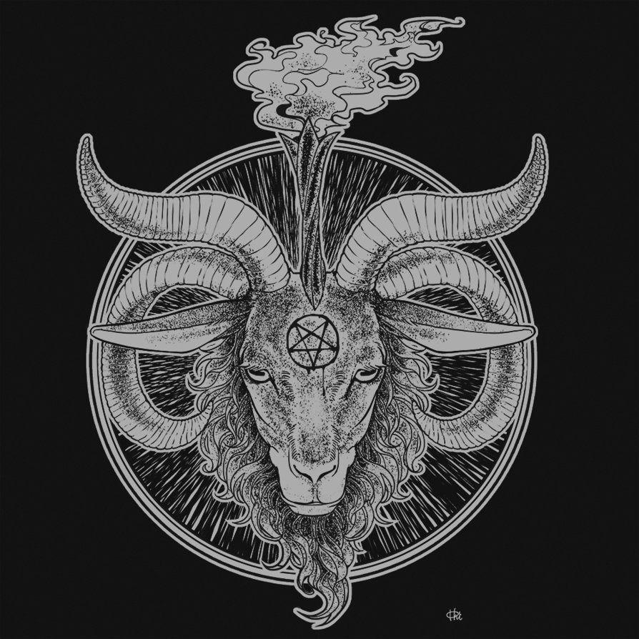 Картинки козла сатаны