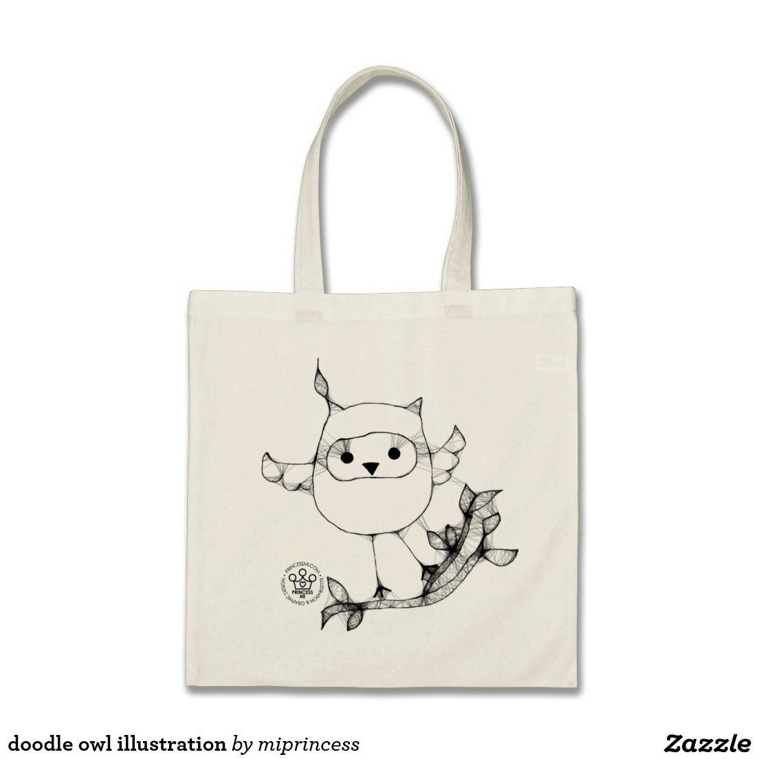 doodle owl illustration   zazzle design   Pinterest   Owl illustration