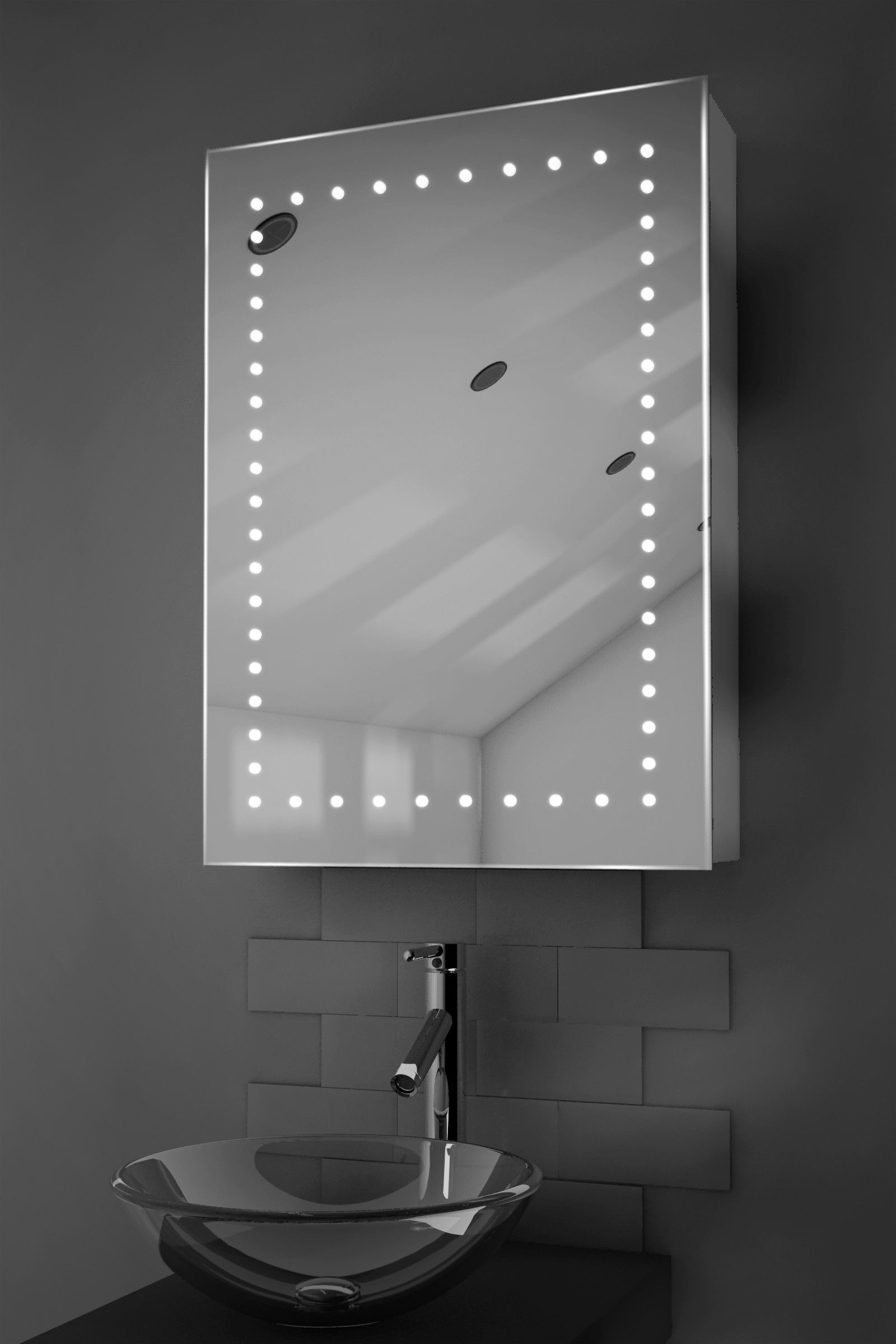 Swell Led Demist Cabinet Lighted Mirrors For Bathrooms Home Interior And Landscaping Oversignezvosmurscom