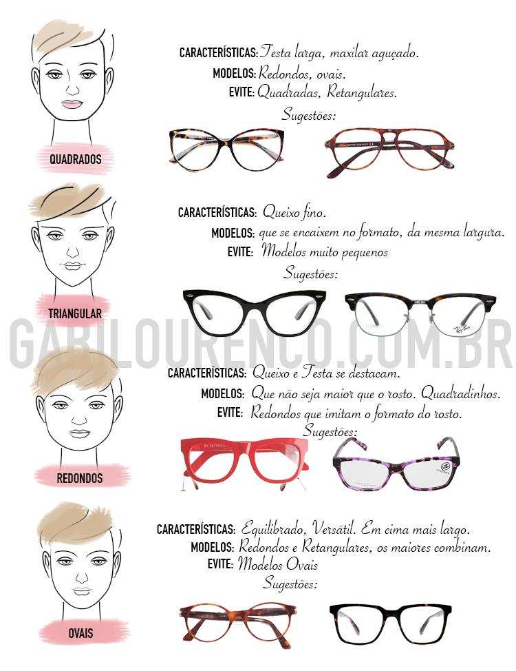 0cf44d6f6fbee Óculos para cada tipo de rosto