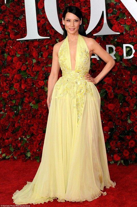 Lucy Liu (Zuhair Murad) - Junho 2016 (Tony Awards)