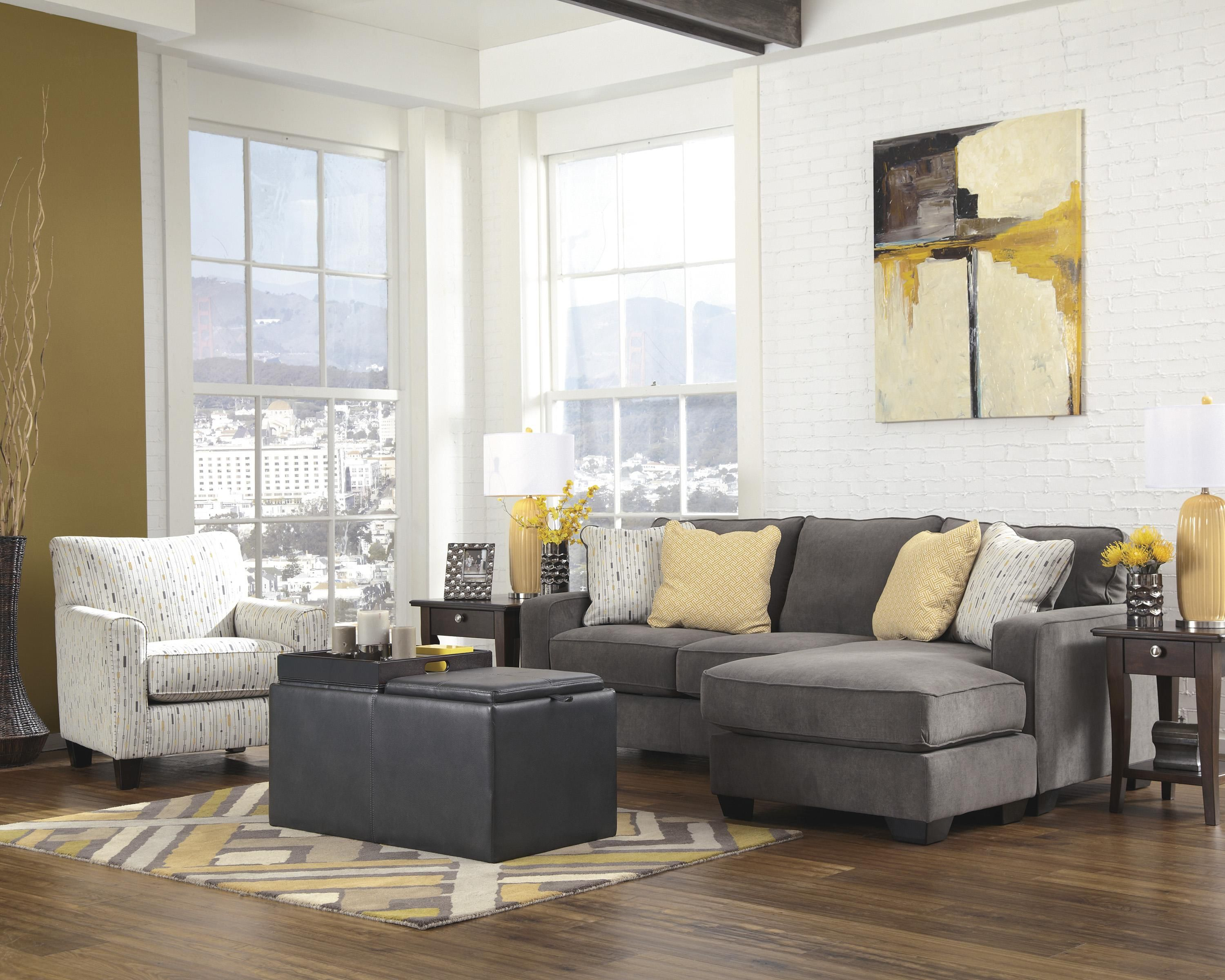 Signature Design By Ashley Hodan Contemporary Accent Chair   SuperStore    Upholstered Chair Williston, Burlington