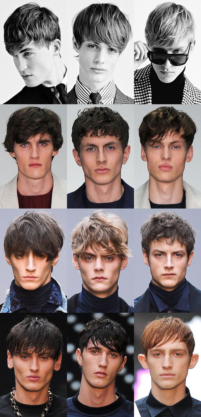 Trendy haircuts men textured menus hair at london collections men aw  hairstyles