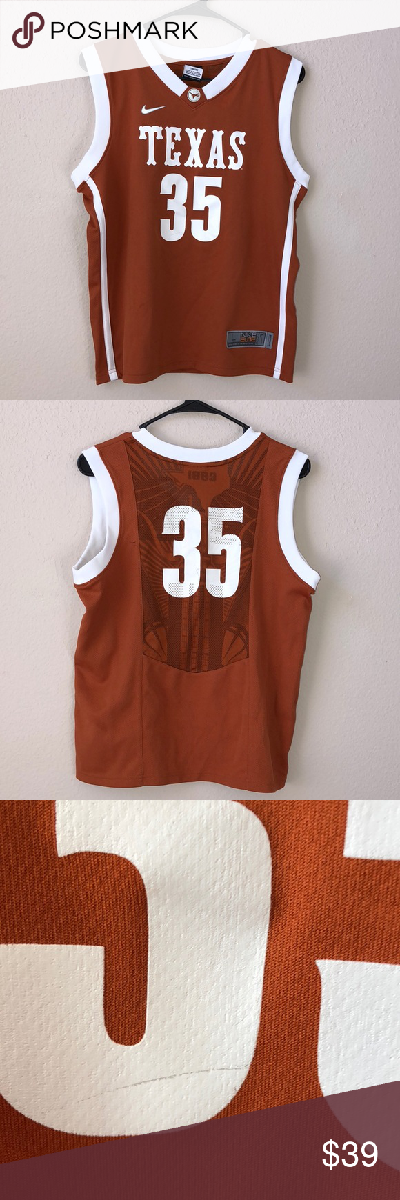 reputable site 61255 badb1 University Of Texas Kevin Durant College Jersey | My Posh ...