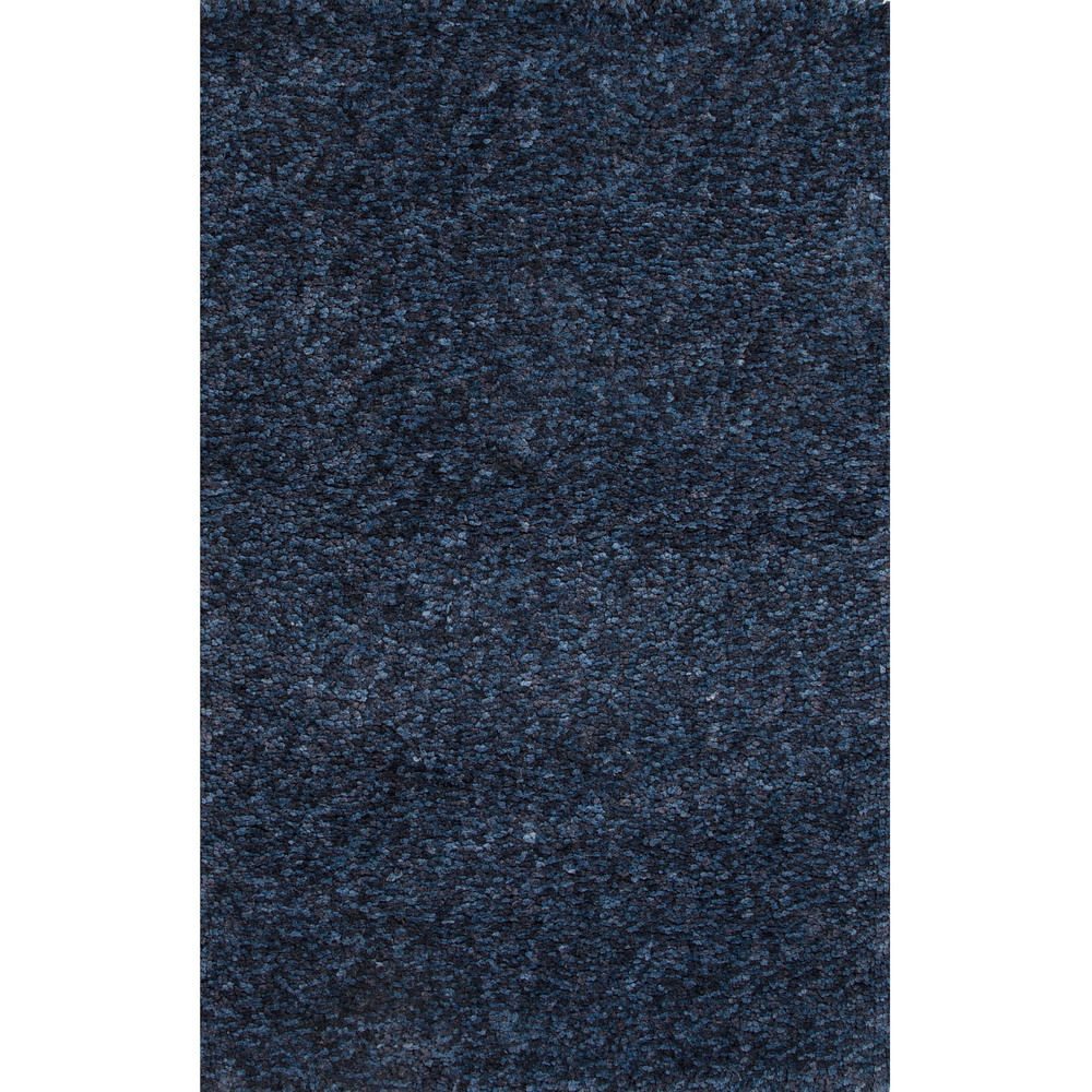 Solid Pattern Blue Polyester Shag Rug (5'x8') - Overstock™ Shopping - Great Deals on 5x8 - 6x9 Rugs