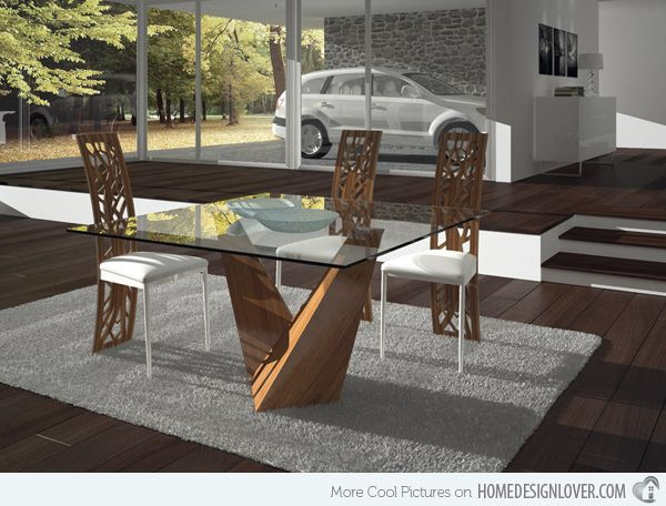 15 Shimmering Square Glass Dining Room Tables  Glass Dining Room Amazing Square Dining Room Set Inspiration