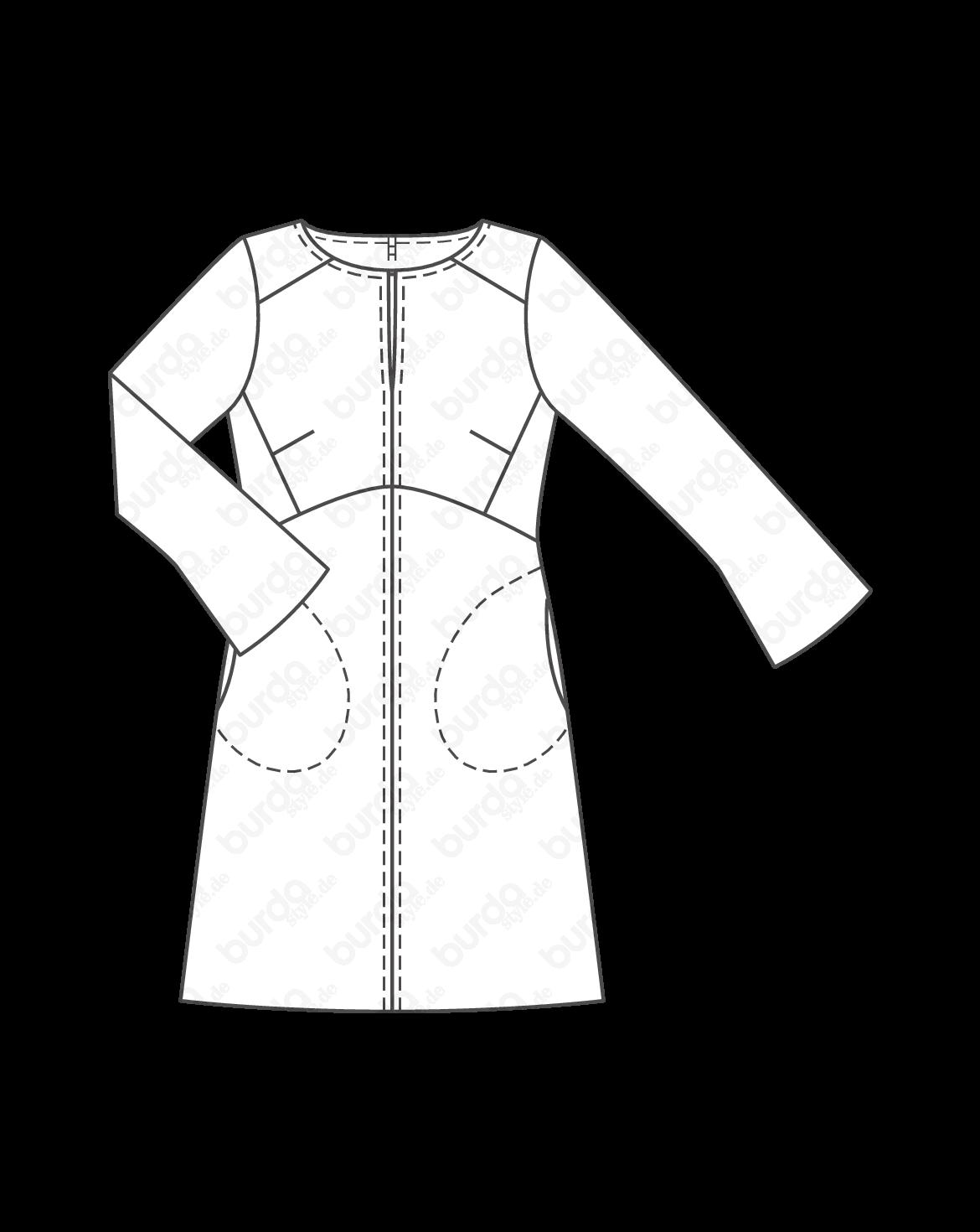 burda style, Schnittmuster, Kleid 10/2014 #139, Schon in der ...