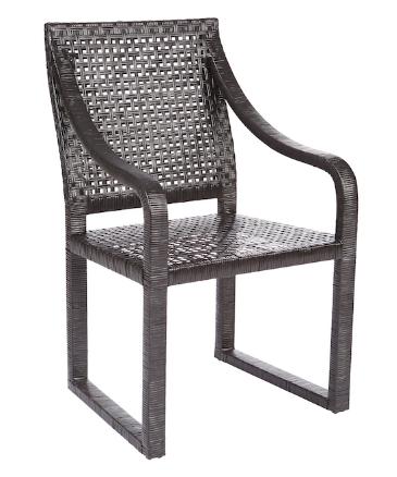Remi Rattan Chair Black Set Of 2 Rattan Chair Chair Adirondack Chairs For Sale