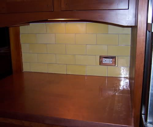 Electrical Outlet Height Above Countertop Like Horizontal In White To Match Subway Tile