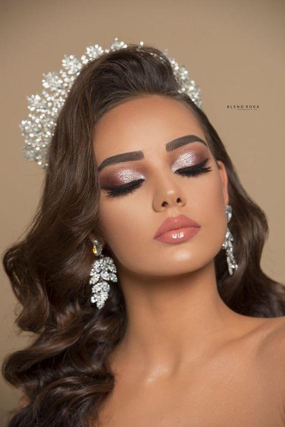 40 Pretty&Attractive Wedding Makeup Idea - Wedding Makeup