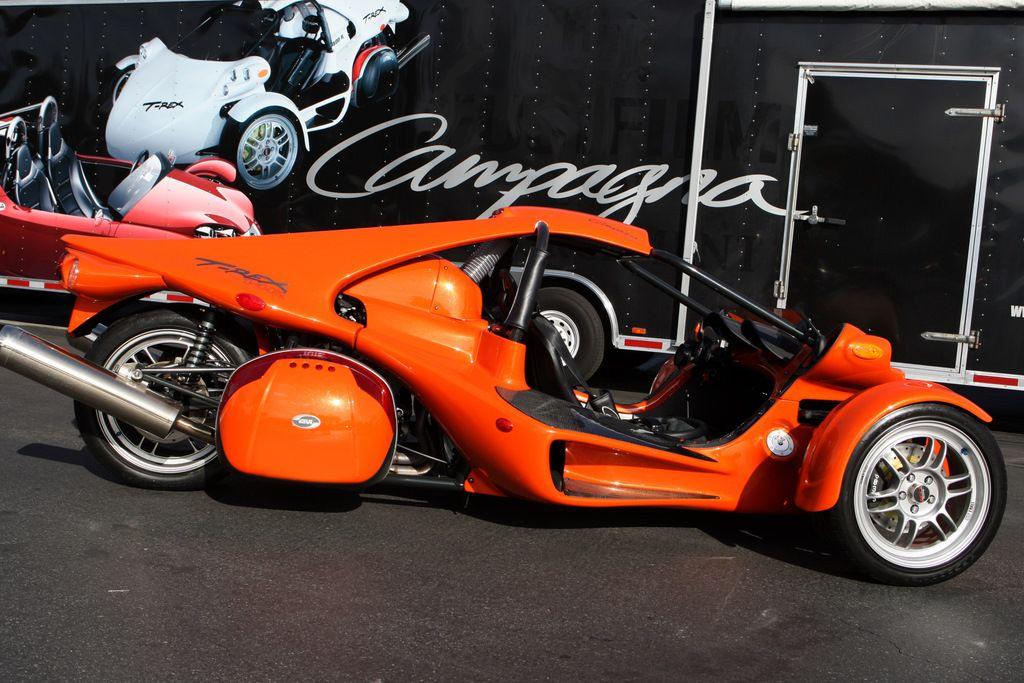 Campagna T Rex Motorcycle Reverse Trike Trike