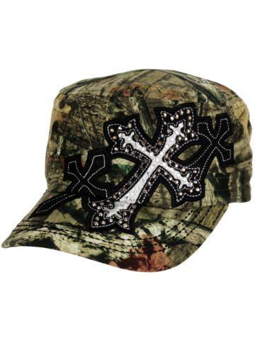 $8.50 Triple Cross Mossy Oak Cadet Cap