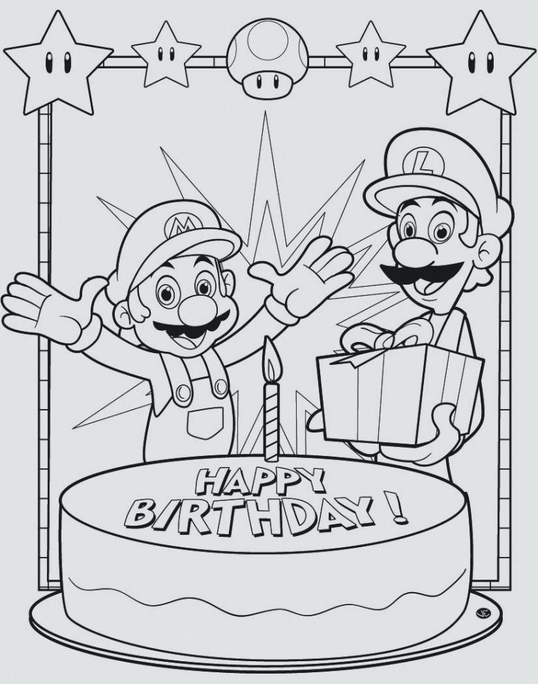 Disney Princess Happy Birthday Coloring Pages For Kids ...